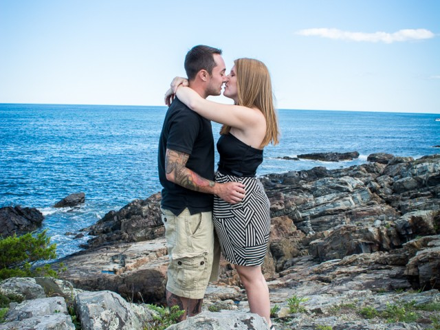 Ogunquit Maine Engagement Shoot with Heather and Mario!
